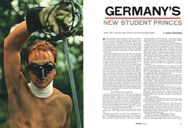 Germany's New Student Princes