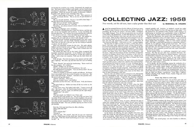 Article Preview: Collecting Jazz: 1958, FEBRUARY, 1958 1958 | Esquire