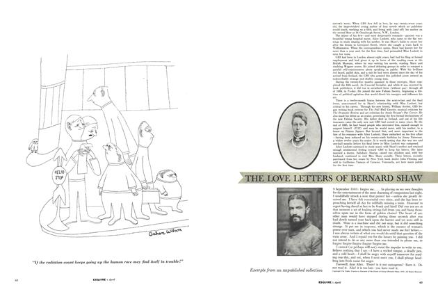 The Love Letters of Bernard Shaw