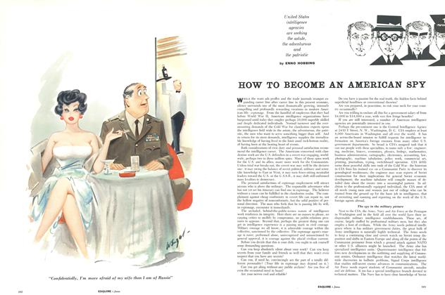 How to Become an American Spy