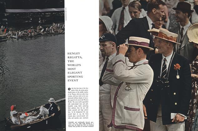 Article Preview: HENLEY REGATTA, THE WORLD'S MOST ELEGANT SPORTING EVENT, July 1958 | Esquire