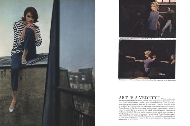 Article Preview: ART IS A VEDETTE, July 1958 | Esquire