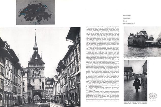 Article Preview: Esquire's Side Trip No. 3: Switzerland, July 1958 | Esquire