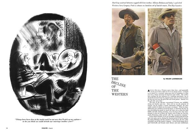 Article Preview: The Decline of the Western, AUGUST, 1958 1958   Esquire