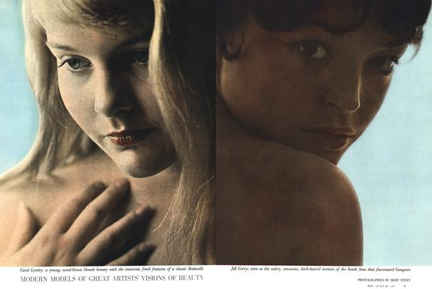 Article Preview: Modern Models of Great Artists' Visions of Beauty, OCTOBER, 1958 1958   Esquire