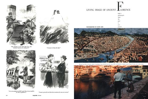 Article Preview: Living Image of Ancient Florence, OCTOBER, 1958 1958 | Esquire