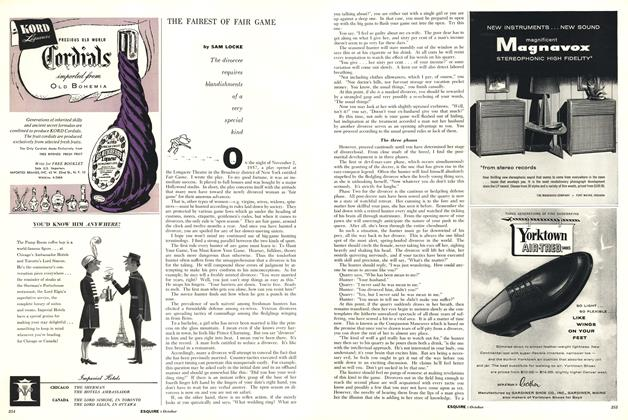 Article Preview: The Fairest of Fair Game, OCTOBER, 1958 1958 | Esquire