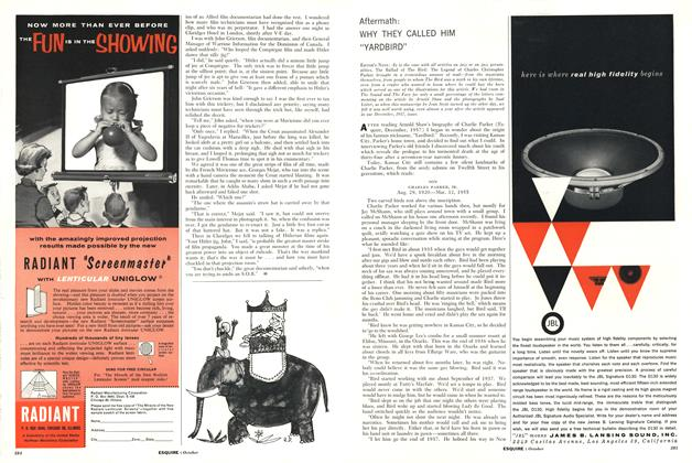 """Article Preview: Why They Called Him """"Yardbird"""", OCTOBER, 1958 1958 