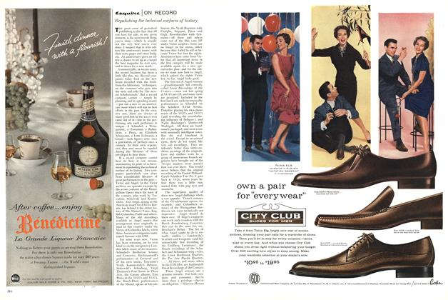 Article Preview: Esquire on Record, OCTOBER, 1958 1958 | Esquire