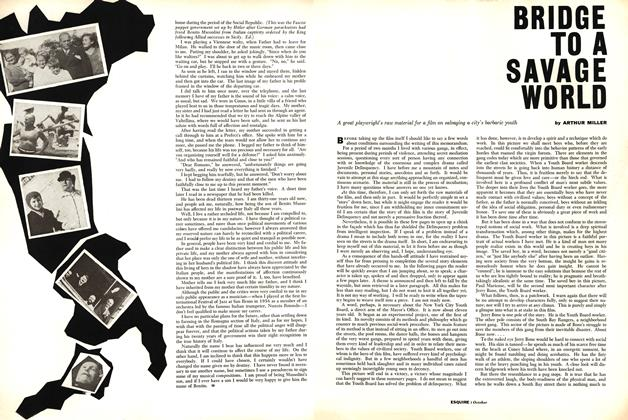 Article Preview: Bridge to a Savage World, OCTOBER, 1958 1958 | Esquire