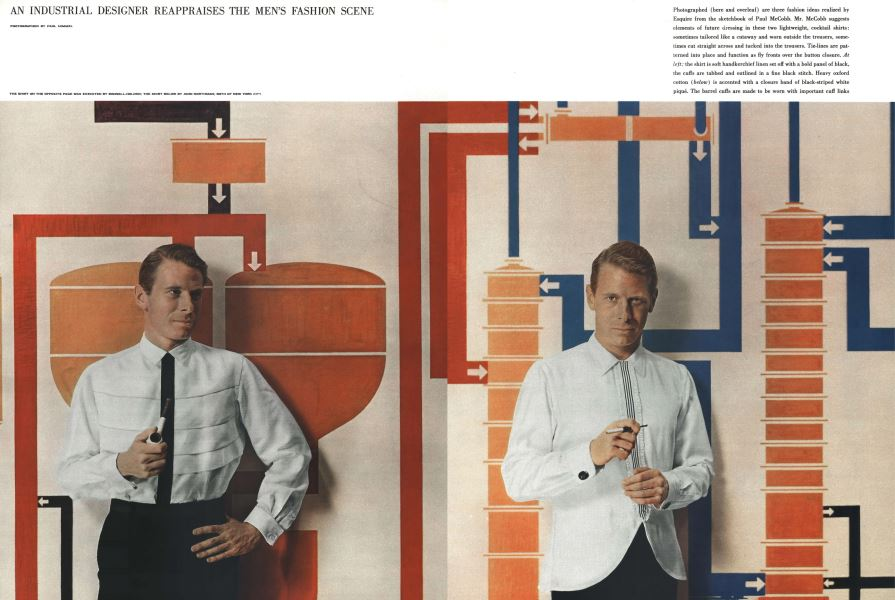 An Industrial Designer Reappraises The Men S Fashion Scene Esquire October 1958