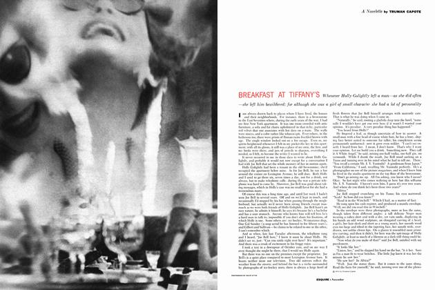 Article Preview: Breakfast at Tiffany's, NOVEMBER, 1958 1958 | Esquire