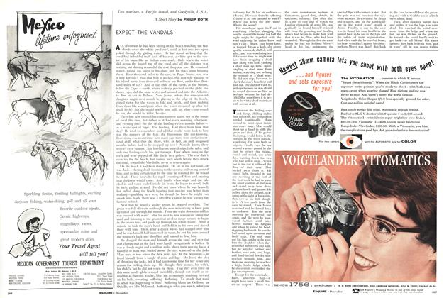 Article Preview: Expect the Vandals, December 1958 | Esquire