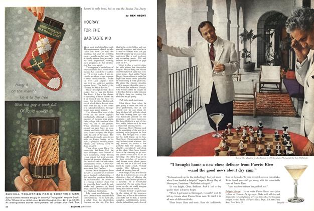 Article Preview: Hooray for the Bad-taste Kid, DECEMBER, 1958 1958 | Esquire