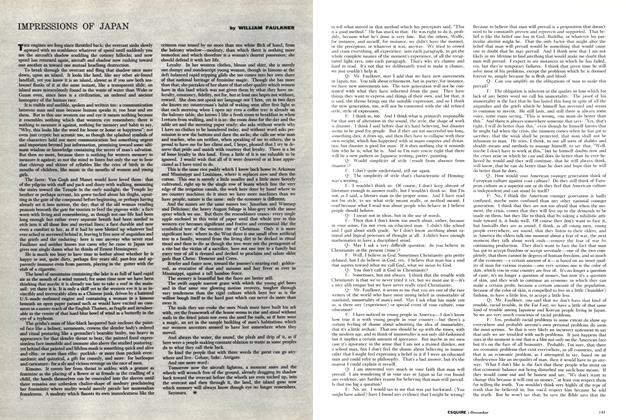 Article Preview: Impressions of Japan, DECEMBER, 1958 1958 | Esquire
