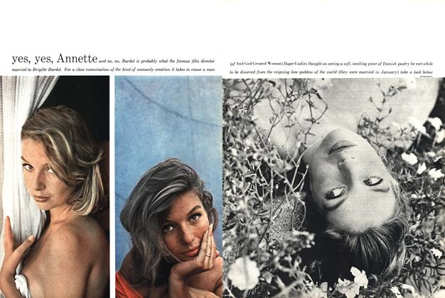 Article Preview: Yes, Yes, Annette, DECEMBER, 1958 1958 | Esquire
