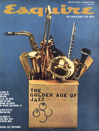 Cover for the January 1959 issue