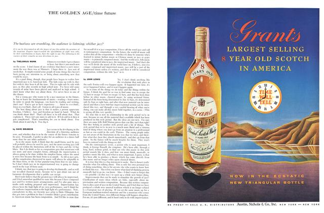 Article Preview: Time Future, JANUARY, 1959 1959 | Esquire
