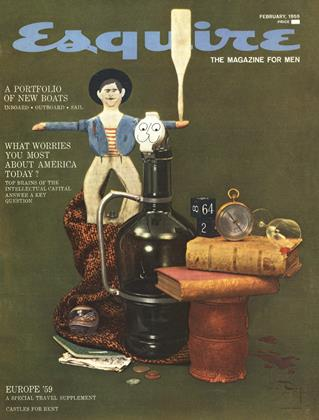 Cover for the February 1959 issue
