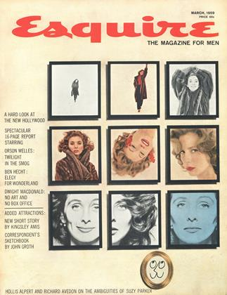 Cover for the March 1959 issue