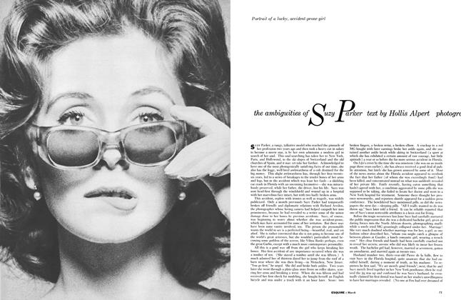 Article Preview: The Ambiguities of Suzy Parker, MARCH, 1959 1959 | Esquire