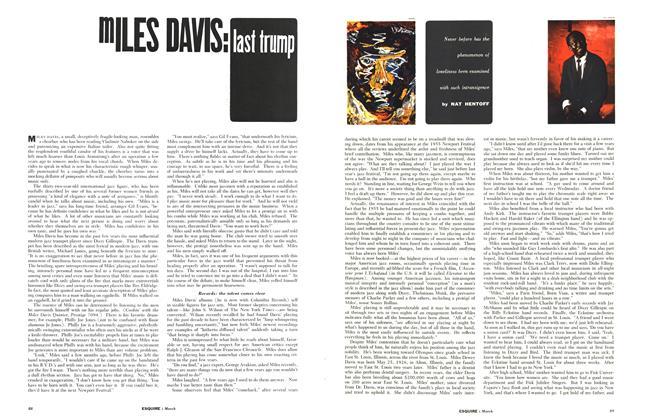 Article Preview: Miles Davis: Last Trump, MARCH, 1959 1959 | Esquire