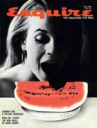 Cover for the July 1959 issue