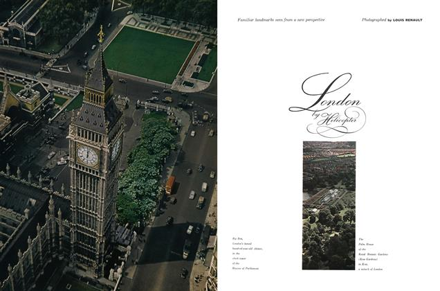 Article Preview: London by Helicopter, JULY, 1959 1959 | Esquire