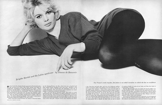 Article Preview: Brigitte Bardot and the Lolita Syndrome, AUGUST, 1959 1959   Esquire