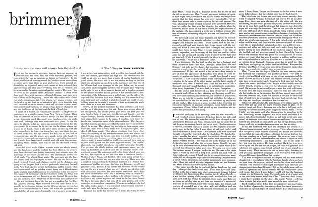 Article Preview: Brimmer, AUGUST, 1959 1959 | Esquire