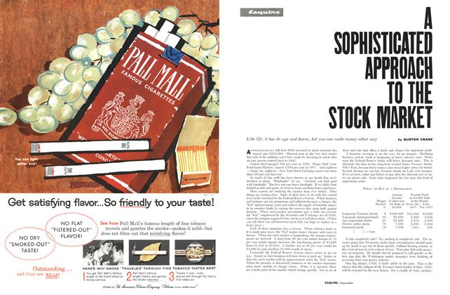 Article Preview: A Sophisticated Approach to the Stock Market, September 1959 | Esquire