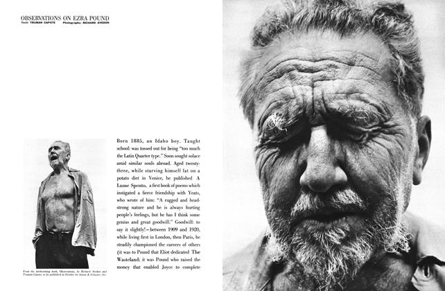 Article Preview: Observations on Ezra Pound, September 1959 | Esquire