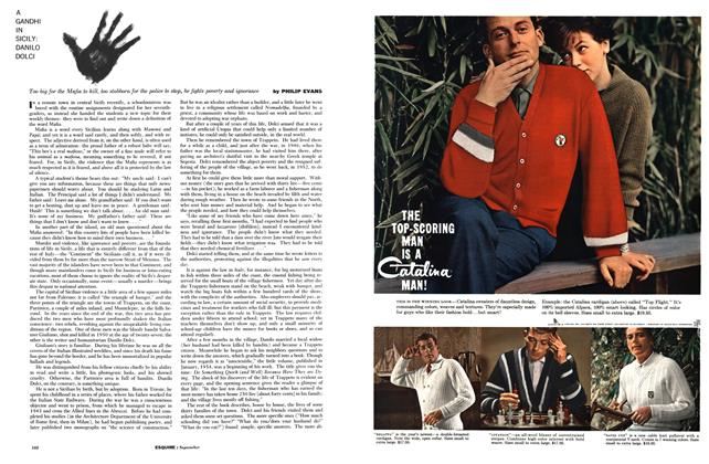 Article Preview: A Gandhi in Sicily: Danilo Dolci, September 1959 | Esquire