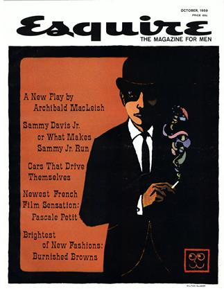 Cover for the October 1959 issue