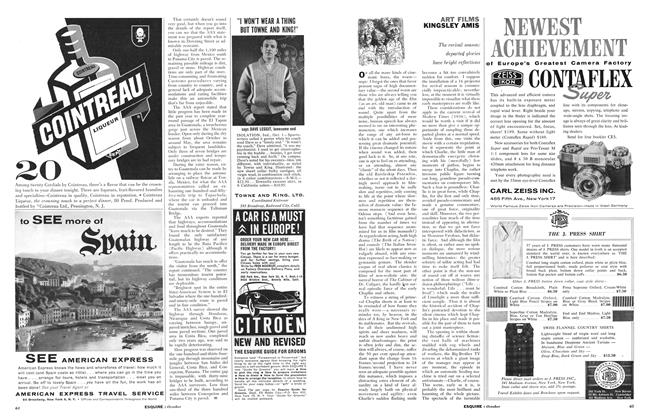 Article Preview: Art Films, OCTOBER, 1959 1959 | Esquire