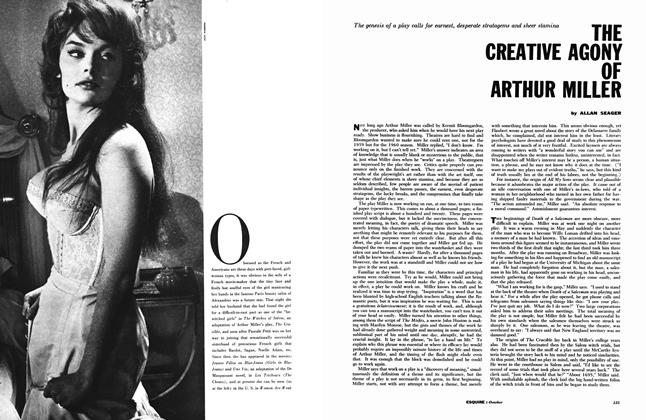 Article Preview: The Creative Agony of Arthur Miller, October 1959 | Esquire