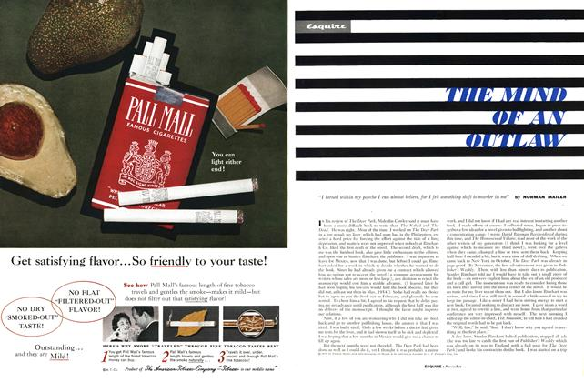 Article Preview: The Mind of an Outlaw, NOVEMBER, 1959 1959 | Esquire