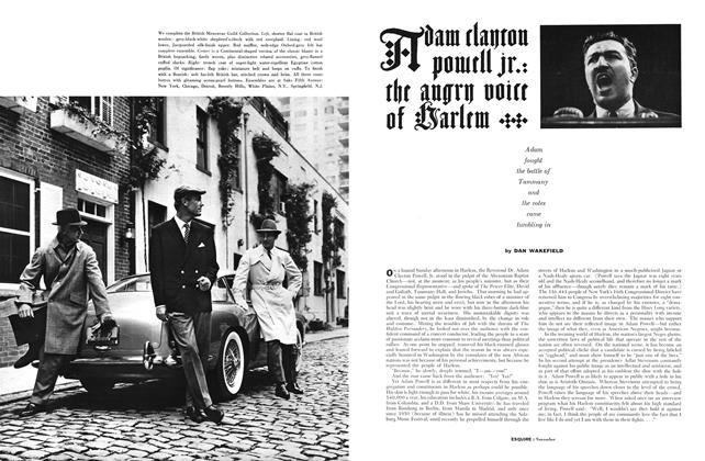 Article Preview: Adam Clayton Powell Jr.: The Angry Voice of Harlem, NOVEMBER, 1959 1959   Esquire