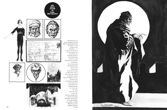 Article Preview: The Dark World of John Barrymore, December 1959 | Esquire