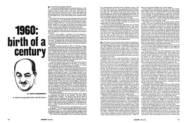 Article Preview: 1960: Birth of a Century, December 1959 | Esquire