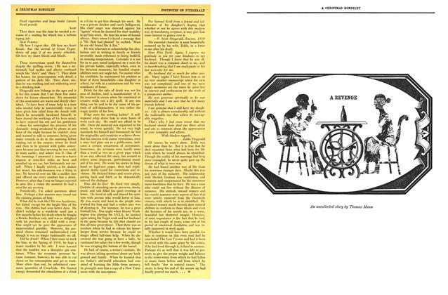 Article Preview: A REVENGE, DECEMBER, 1959 1959 | Esquire