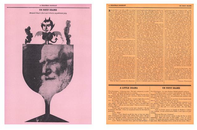 Article Preview: Un Petit Drame, December 1959 | Esquire