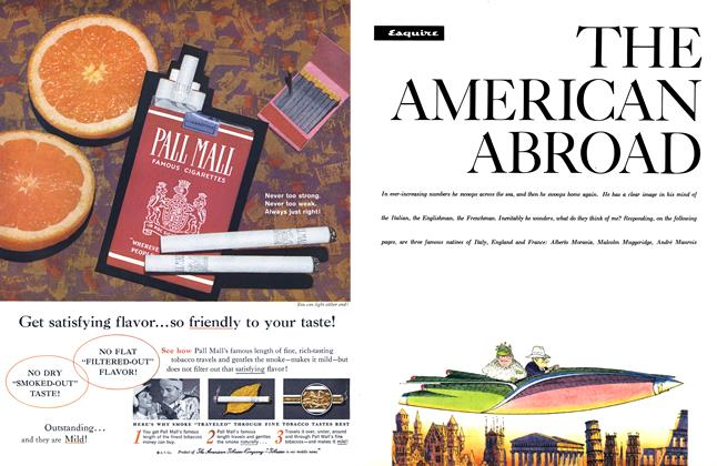 Article Preview: The American Abroad, FEBRUARY, 1960 1960 | Esquire