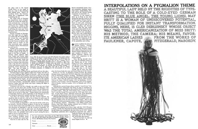 Article Preview: Interpolations on a Pygmalion Theme, MARCH, 1960 1960 | Esquire