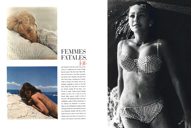 Article Preview: Femmes Fatales, J.G., April 1960 | Esquire