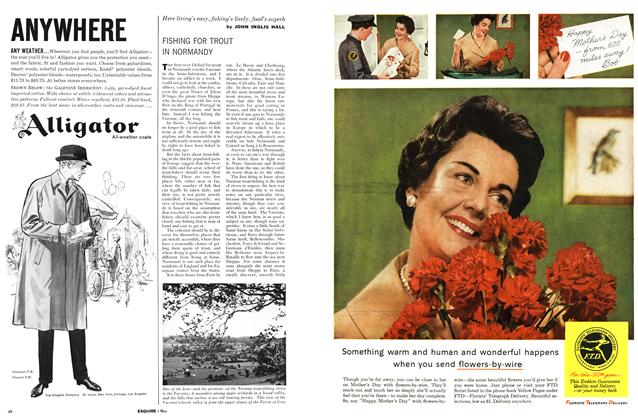Article Preview: Fishing for Trout in Normandy, MAY, 1960 1960 | Esquire