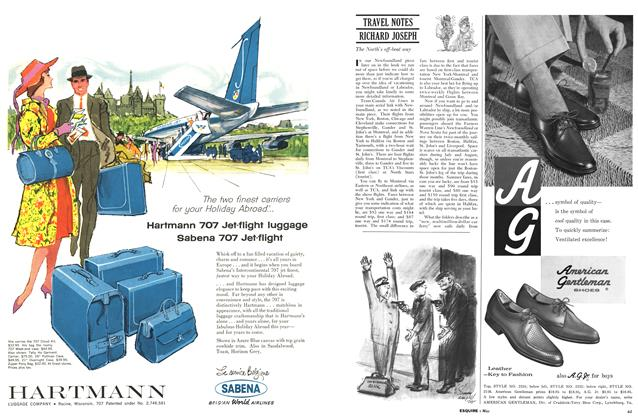 Article Preview: Travel Notes Richard Joseph, MAY, 1960 1960 | Esquire