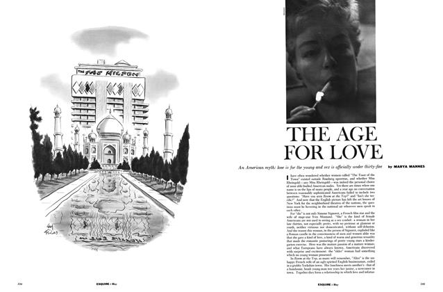 Article Preview: The Age for Love, MAY, 1960 1960 | Esquire