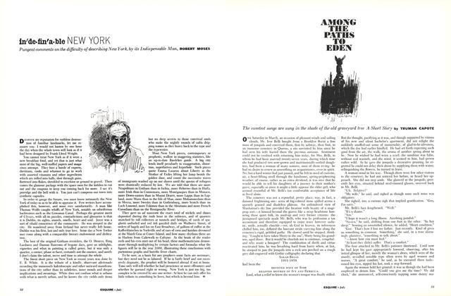 Article Preview: Among the Paths to Eden, July 1960 | Esquire
