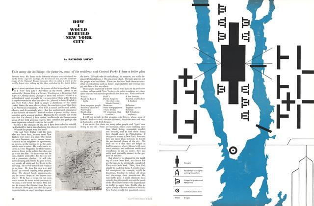 Article Preview: How I Would Rebuild New York City, July 1960 | Esquire